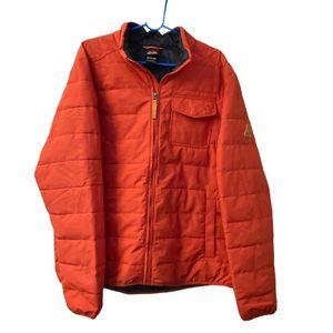 Gerry orange puffer Mens XL ski jacket zip coat